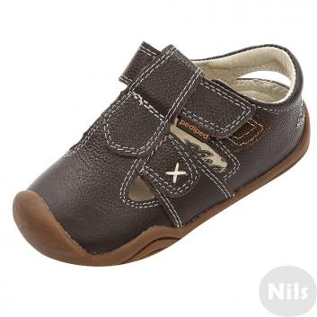 Обувь, Сандалии Pediped (коричневый)625342, фото