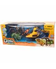 Набор Охотник за динозаврами вертолет CHAPMEI