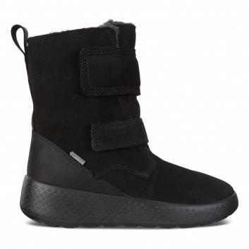Обувь, Полусапоги ECCO (черный)223332, фото