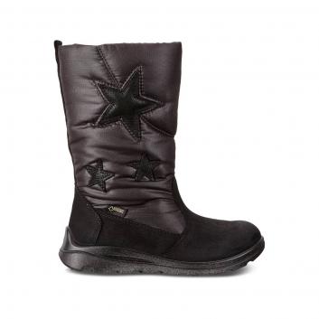 Обувь, Полусапоги ECCO (черный)223337, фото