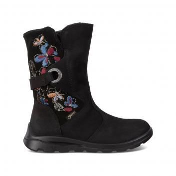Обувь, Полусапоги ECCO (черный)223352, фото