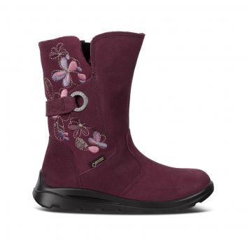 Обувь, Полусапоги ECCO (сливовый)223358, фото