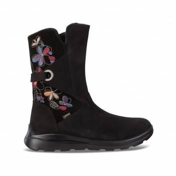 Обувь, Полусапоги ECCO (черный)223364, фото