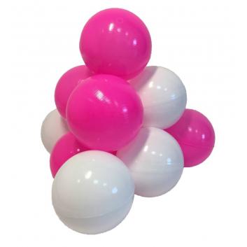 Спорт и отдых, Комплект шариков Карамелька для сухого бассейна 50 шт HOTENOK (малиновый)175588, фото