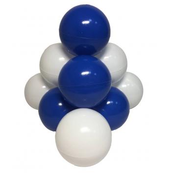 Спорт и отдых, Комплект шариков Морские пузыри для сухого бассейна 50 шт HOTENOK (синий)175590, фото