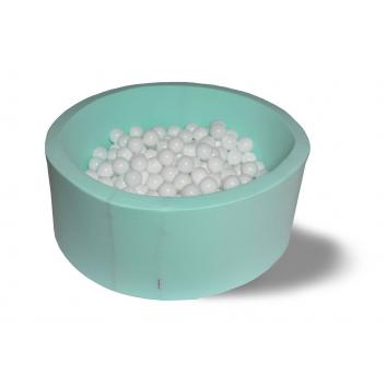 Спорт и отдых, Сухой бассейн Мокрый снег 40 см с комплектом шаров 200 шт HOTENOK 175618, фото