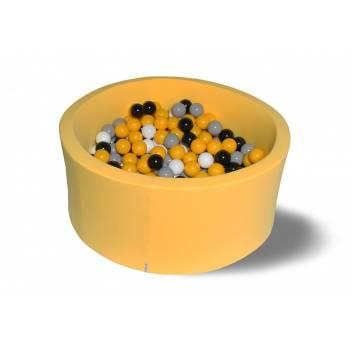 Спорт и отдых, Сухой бассейн Цветочная пыльца 40 см с комплектом шаров 200 шт HOTENOK 175628, фото