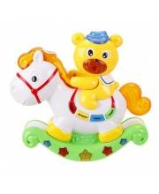 Игрушка Медвежонок и лошадка с проектором Наша Игрушка
