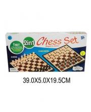 Настольная игра 2 в 1 Шахматы, шашки Наша Игрушка