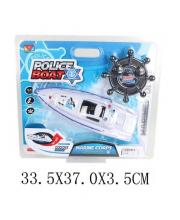 Игрушка радиоуправляемая Полицейский катер Наша Игрушка