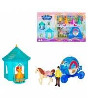 Игровой набор Карета с лошадкой Наша Игрушка