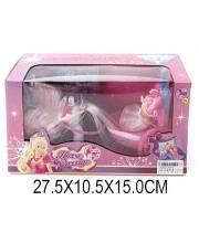 Карета с куклой Маленькая принцесса Наша Игрушка