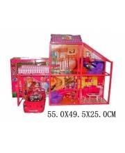Дом для куклы с машиной Наша Игрушка