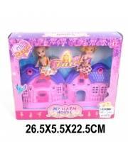 Домик с набором кукол Наша Игрушка