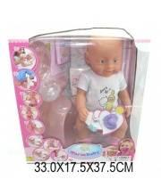 Кукла функциональная Warm Baby с аксессуарами Наша Игрушка