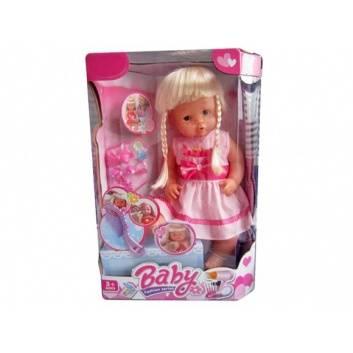 Игрушки, Кукла Нарядная малышка 40 см аксессуары Наша Игрушка 206881, фото