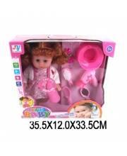 Кукла 35 см с аксессуарами звук Наша Игрушка