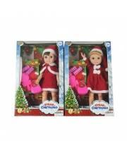 Кукла Джемми-Снегурочка в красном костюме Наша Игрушка