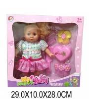 Кукла Вика м/н 28 см с аксессуарами Наша Игрушка