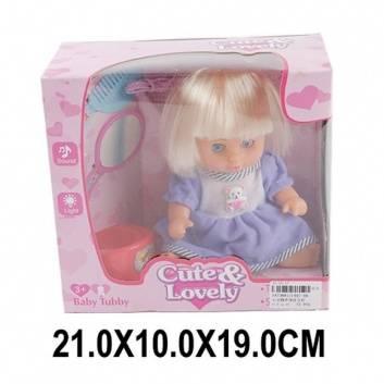 Игрушки, Кукла 20см в голубом костюме с аксессуарами Наша Игрушка 208385, фото