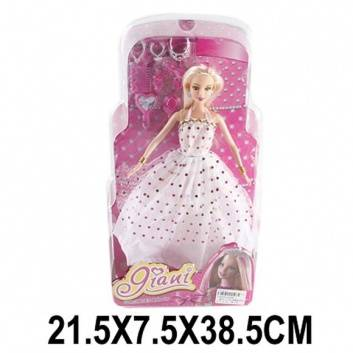 Игрушки, Кукла Яни 29 см с аксессуарами Наша Игрушка , фото