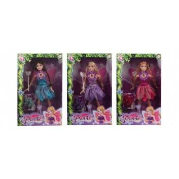 Игрушки, Кукла Abbie Фея озвученная 29 см с аксессуарами Наша Игрушка 208567, фото