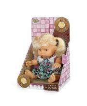 Кукла 19 см в платье озвученная Наша Игрушка