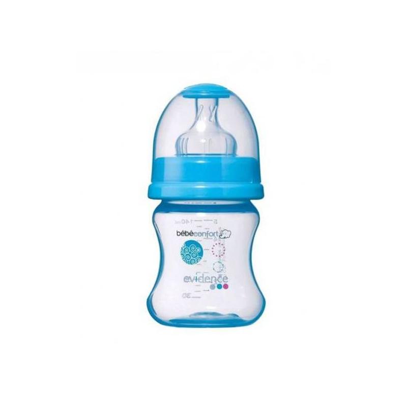 Bebe Confort Бутылочка Maternity 140 мл, 0-6 мес. bebe confort bebe confort бутылочка maternity с ручками 270 мл белая