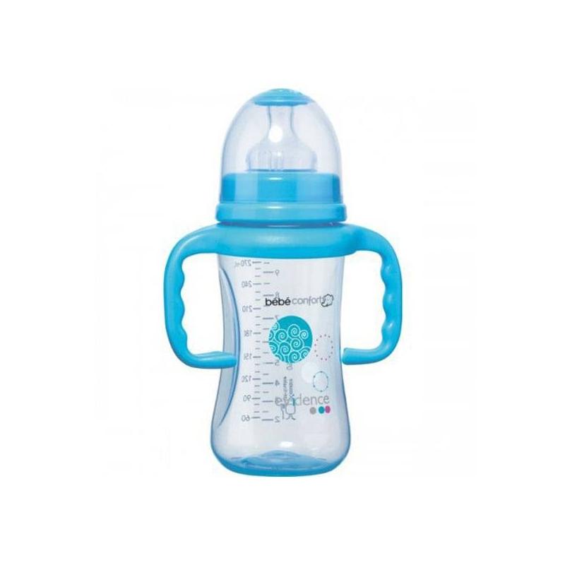 Bebe Confort Бутылочка Maternity 270 мл, 6-24 мес. с ручками