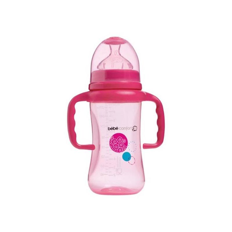 Bebe Confort Бутылочка Maternity 270 мл, 6-24 мес. с ручками соски bebe confort латексная стандарт 6 24 мес 3 шт