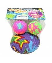 Набор мячей Неон 3 штуки Наша Игрушка