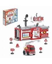 Игровой набор Пожарная часть 58 эл Наша Игрушка