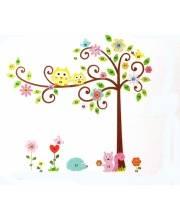 Наклейки для декора Дерево с завитками RoomMates