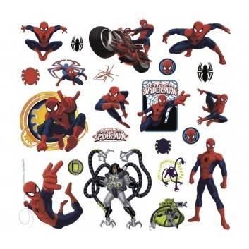 Любимые герои, Наклейки для декора Человек-паук RoomMates 530106, фото