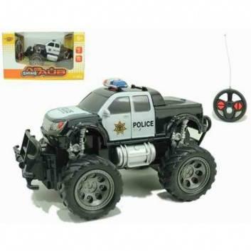 Игрушки, Машина радиоуправляемая Полицейский внедорожник 1:24 Наша Игрушка 207829, фото