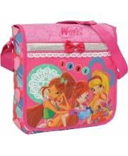 Сумка-почтальон на плечо WinxClub Fairy diary lace РОСМЭН