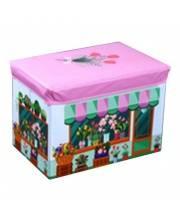 Корзина для игрушек Цветочный магазин Наша Игрушка