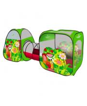 Палатка игровая с туннелем Веселая улитка Наша Игрушка
