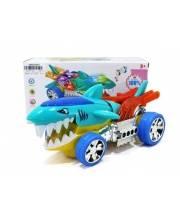 Машина Акула со светом и звуком Наша Игрушка