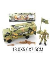 Набор Военный с солдатом и грузовиком Наша Игрушка