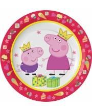 Набор тарелок Пеппа-принцесса РОСМЭН