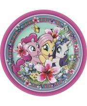 Набор тарелок Мой маленький пони 6 шт РОСМЭН