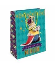Пакет подарочный Миньон-король 350х250х90 см РОСМЭН