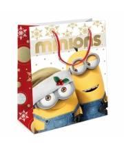 Пакет подарочный Рождество Миньонов 230х180х100 см РОСМЭН