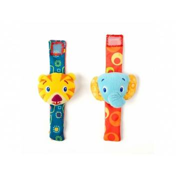 Игрушки, Игрушки-погремушки Стильная пара браслетиков Bright Starts , фото