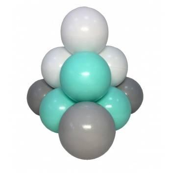 Спорт и отдых, Комплект шариков Мятный бриз для сухого бассейна 100 шт HOTENOK 175593, фото