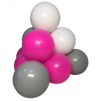 Спорт и отдых, Комплект шариков Розовый бриз для сухого бассейна 100 шт HOTENOK 175594, фото