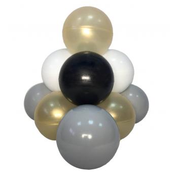 Спорт и отдых, Комплект шариков Золотой песок для сухого бассейна 100 шт HOTENOK 175603, фото