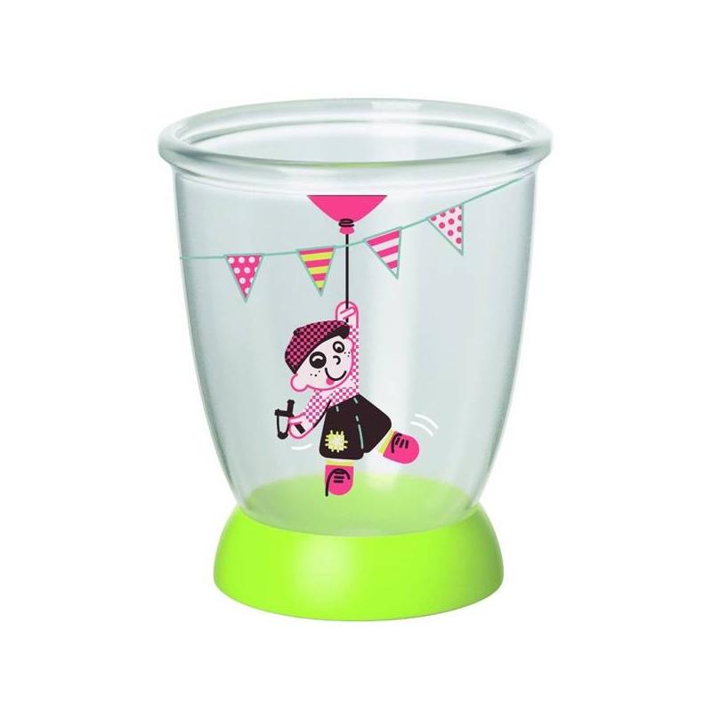Стаканчик прозрачныйСтаканчик Bebe Confortпредназначен для жидких и сыпучих продуктов. Удобные мерные деления помогут маме точно определить дозировку при кормлении. Стаканчик имеет широкую нескользящую подставку салатового цвета. Можноиспользовать как мерный стакан или как стакан для питья. Веселый рисунок на стенке стаканчика заинтересуетмаленького непоседу.<br>Стаканчик Bebe Confort можномыть в посудомоечной машине на верхней полке.Материал, из которого изготовлен стаканчик, безопасен для здоровья вашего ребенка.<br><br>Возраст от: 18 месяцев<br>Пол: Не указан<br>Артикул: 624238<br>Бренд: Франция<br>Размер: от 18 месяцев