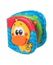 Книжка-игрушка для ванной Пищалка Playgro